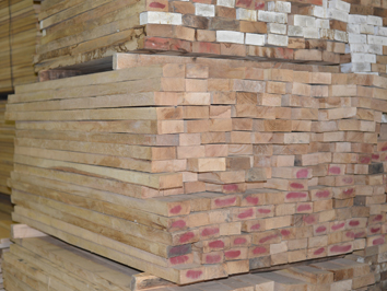 Oak wood boards